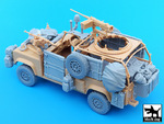 Defender Wolf accessories set