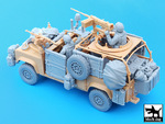 Defender Wolf accessories set with crew