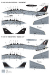 "Decal for F-14B/D VF-103/VF31""Christmas"""