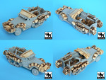 M3 Half Track +amphibian vehicle accessories set