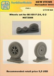 Wheels set for Bf.109 F-2/4, G-2