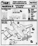 Me 262A/B - control surfaces set for REV