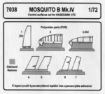 Mosquito - control surfaces set for HAS