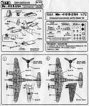 Me-410 - armament conversion set for ITA