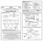 B-25J - control surfaces set  for REV/HAS kit