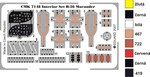 B-26 Marauder-interior set for HAS
