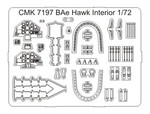 Bae Hawk 100 series - interior set for Airf.