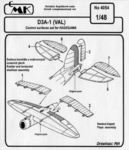 D3A-1 - control surfaces set for HAS