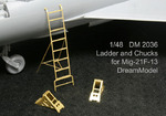 Ladder and Chucks for Mig-21F-13 (TRUMPETER)