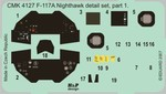 F - 117 A - detail set for TAM