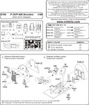 P-400/P-39 Airacobra-interior set for HAS