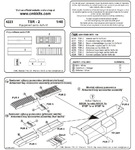 TSR-2 Equipment set for Airfix kit