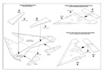 TSR-2 Control surfaces set for Airfix kit