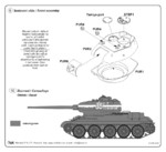T-34/85 model 1943 - conversion set for TAM