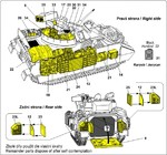 M2A2 Bradley Iraq war - equipment set