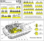 M1A1 Abrams Iraq war - equipment set