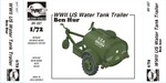 "WW.II  Water Tank Trailer  ""Ben Hur"""