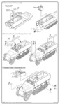 Sd.Kfz.251/22 Ausf.D Drilling-conv.set.HAS