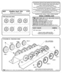 Panther Ausf.A/D  wheels set for REV