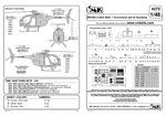 MH-6E/J/M Little Bird-conversion set for ACA