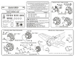 Mitsubishi A6M3/3a - engine set for TAM