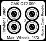 Hawker Hunter  Wheels for REV