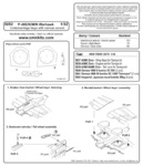 P-40 E/K/M/N Warhawk-undercar.bays with Canvas covers for HAS