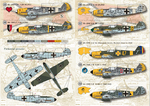 Messershmit Me-109 E Wet decal