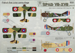 Spad VII-XVII Wet decal
