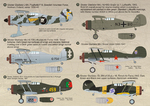Gloster  Gladiator Part 2 Wet decal