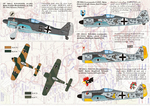 FW 190А2-А9 А complete set decals.   Wet decal