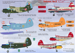 Antonov An-2  Two sheets, the general complete set. Wet decal