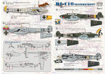 Messershmit Me-110 Part2 Wet decal