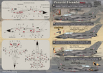 Panavia Tornado Part 2 The complete set 2 leaf Wet decal