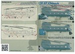 CH-47 Chinook Part 2 The complete set 1,5 leaf Wet decal