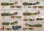 Spad VII-XVII Part 1 Wet decal