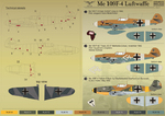 Me 109 F4 Part 1 Wet decal