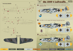 Me 109 F4 Part 2 Wet decal