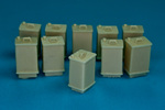 U.S. Army gasoline tanks (10 pcs)