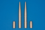 20mm Hispano cannons for Spitfire (wing E & C) (2 x cannons & 2 gaps)