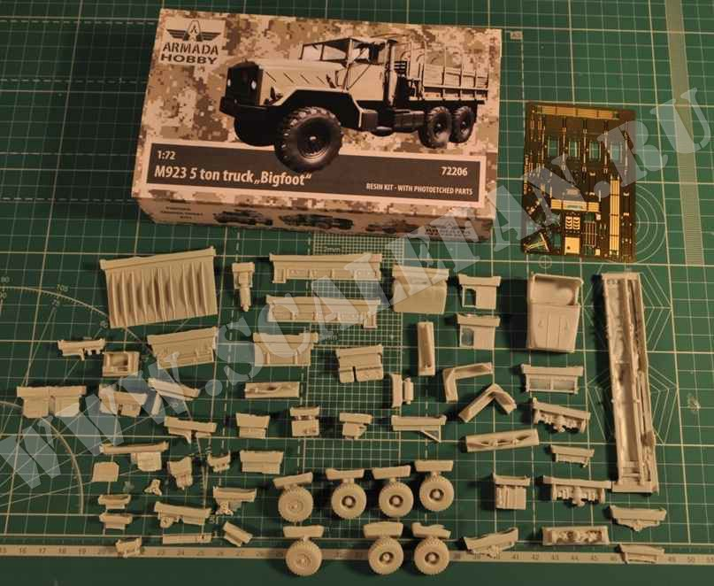 Armada Hobby 72206 1//72 M925 5t Truck with Canvas