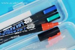 LBX Custom Marker Set 002 (Metallic Red, metallic blue, Metallic green)