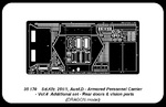 Sd.Kfz.251/1Ausf. D-Vol.4-add.set-rear doors & vision ports (for Dragon)
