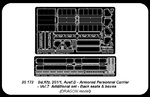 Sd.Kfz.251/1 Ausf.D-vol.7-add.set-back seats&boxes (for Dragon)