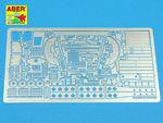 Steyr 1500 – engine & suspension – additional set (for Tamiya & CMK)
