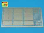 Side skirts for Sd.Kfz.171 Panther Ausf.D&Ausf.A. (for All models)