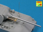 Set of 2 barrels for German Heavy Tank MAUS