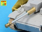 German StuK.40 L/48 7,5 cm Bartel with middle model muzzle brake for StuG. III Ausf.G middle