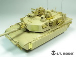 Modern US ARMY M1A2 SEP MBT TUSK I/II