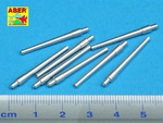 Set of 8 pcs 381mm (15in) L42 Mk.I short barrels for Hood, Repulse, Queen Elisabeth, Vanguard